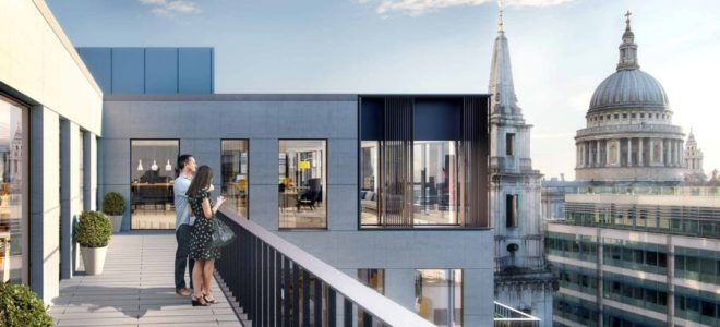 London Office Lease, The City of London