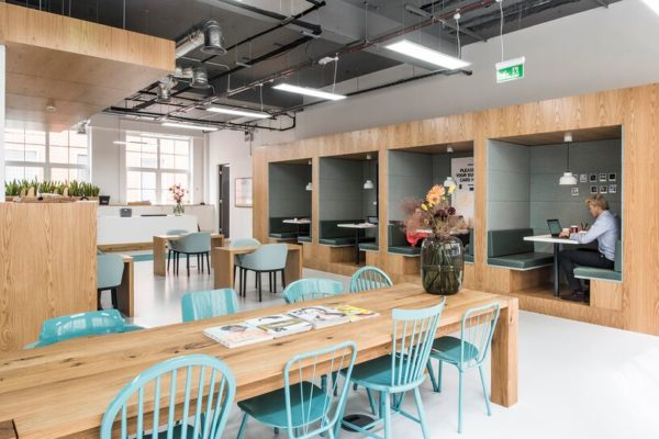 Co-working space in the City of London