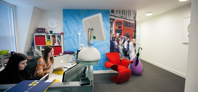 Office in Oxford Street, Serviced Office, Coworking Office