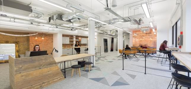 Serviced offices in London, King's Cross