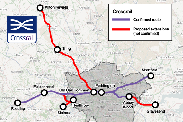 "Crossrail will create ""new"" low-cost office locations. Are you planning to take advantage?"