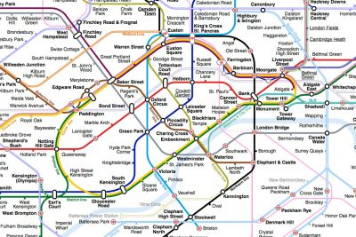 New take on the London Tube Map