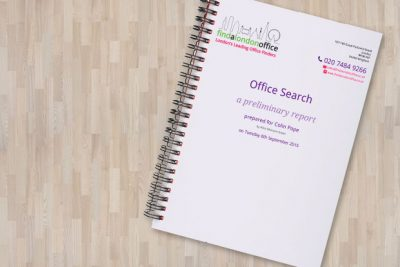 New Personalised Report for your London Office Search