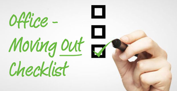 Office - Moving Out Checklist