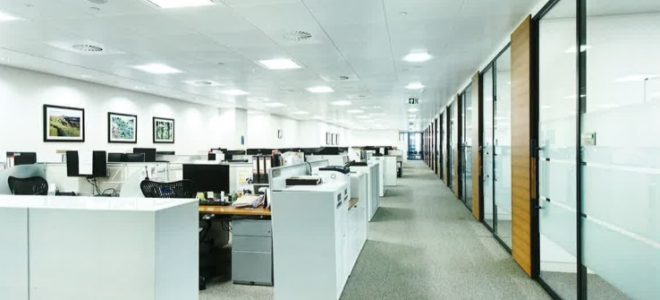 Canary Wharf Office Space, Leased Office