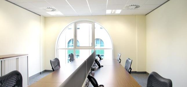 Serviced offices in London, Canary Wharf