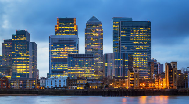 Canary Wharf Office Space