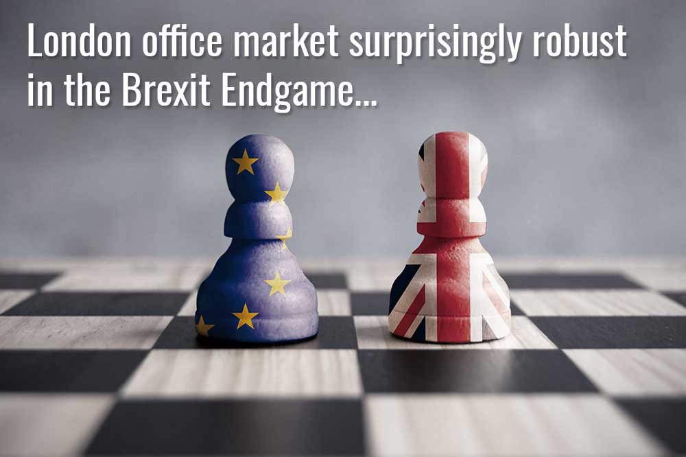 London office market surprisingly robust in the Brexit Endgame