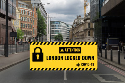 London office market grinds to a halt as the capital locks down