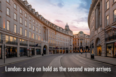 London: a city on hold as the second wave arrives