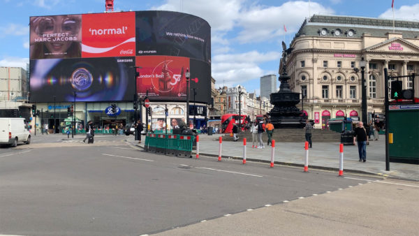 Piccadilly Circus - September 2020