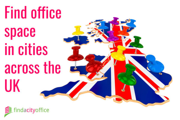 Find office space in cities across the UK