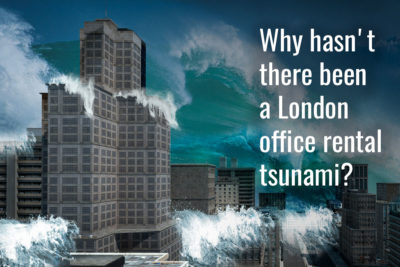 Why hasn't there been a London office rental tsunami?